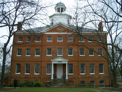 McDowell Hall at St. John's College