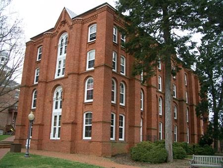 Pinckney Hall Exterior at St. John's College