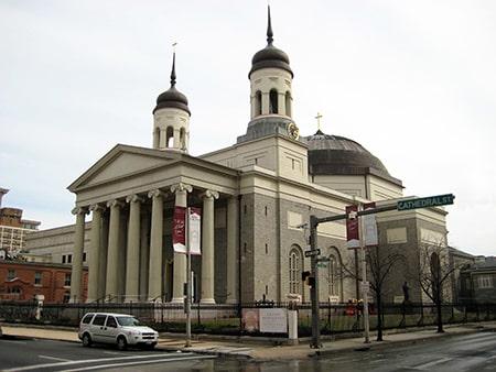 The Baltimore Basilica  West 2013