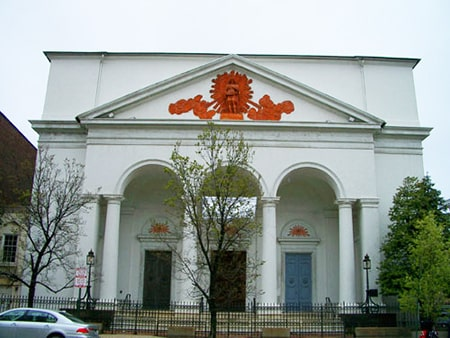 The First Unitarian Church Front Exterior