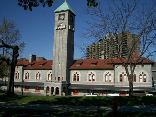 The Mount Royal Station and Trainshed